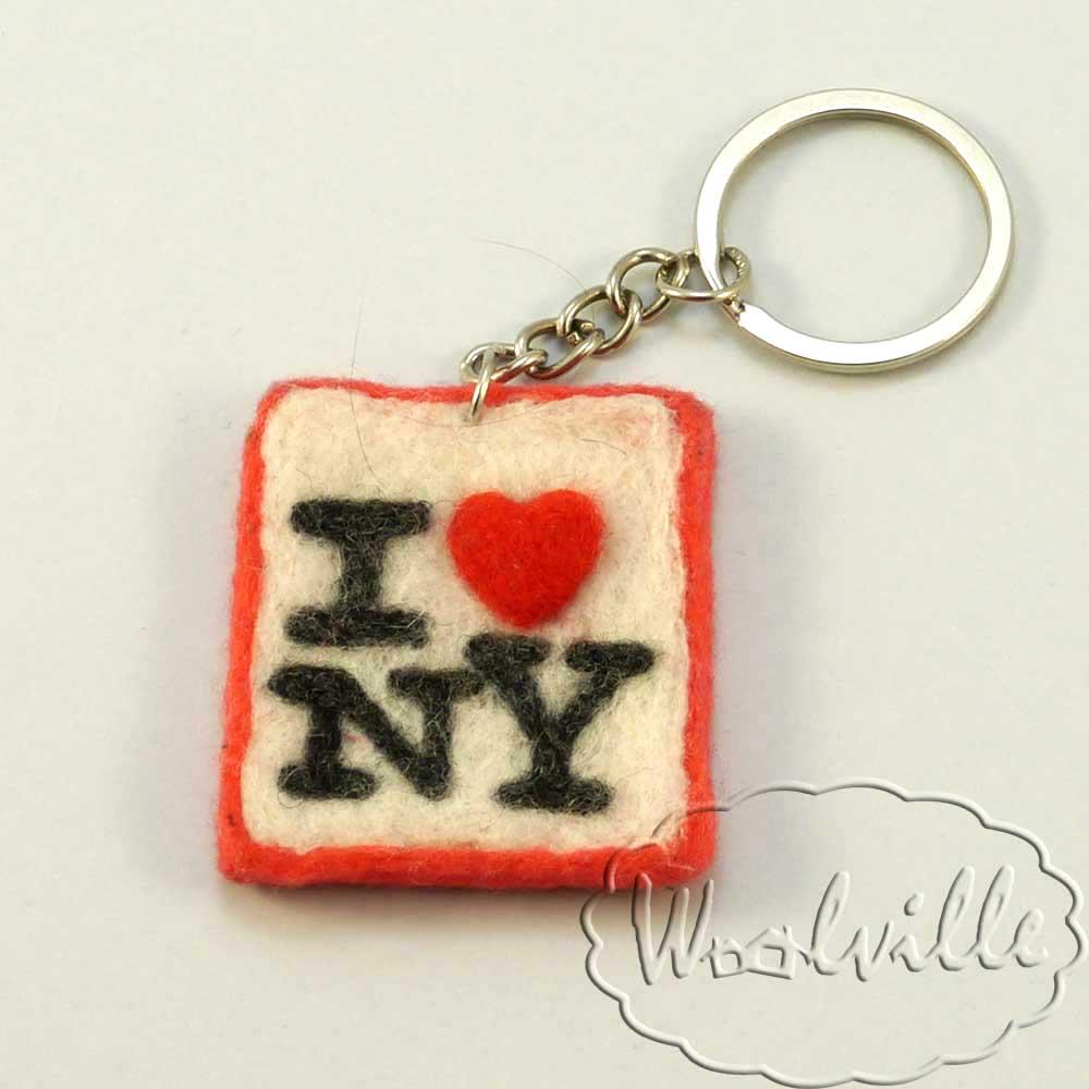 Брелок I Love New York