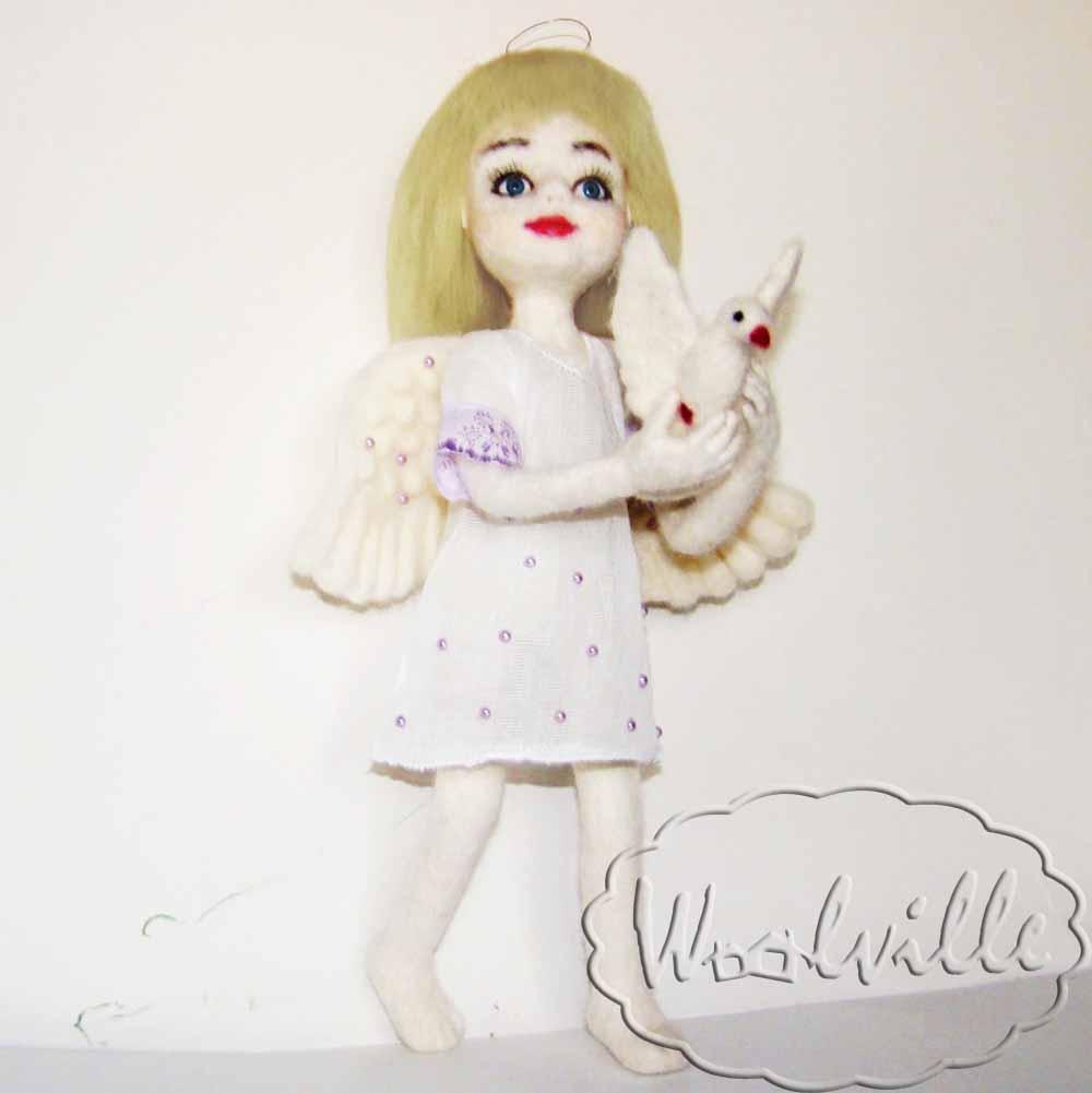 Кукла девочка ангел