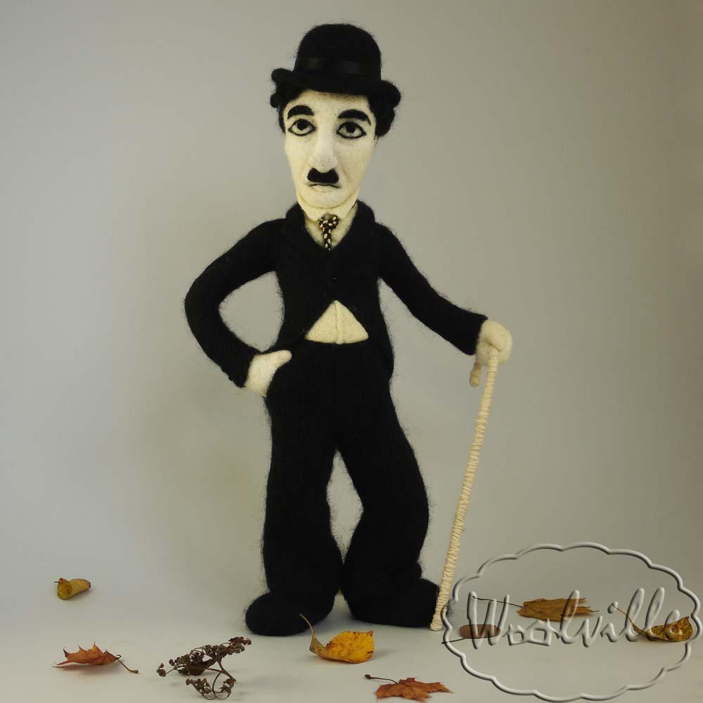 Портретная кукла Чарли Чаплин