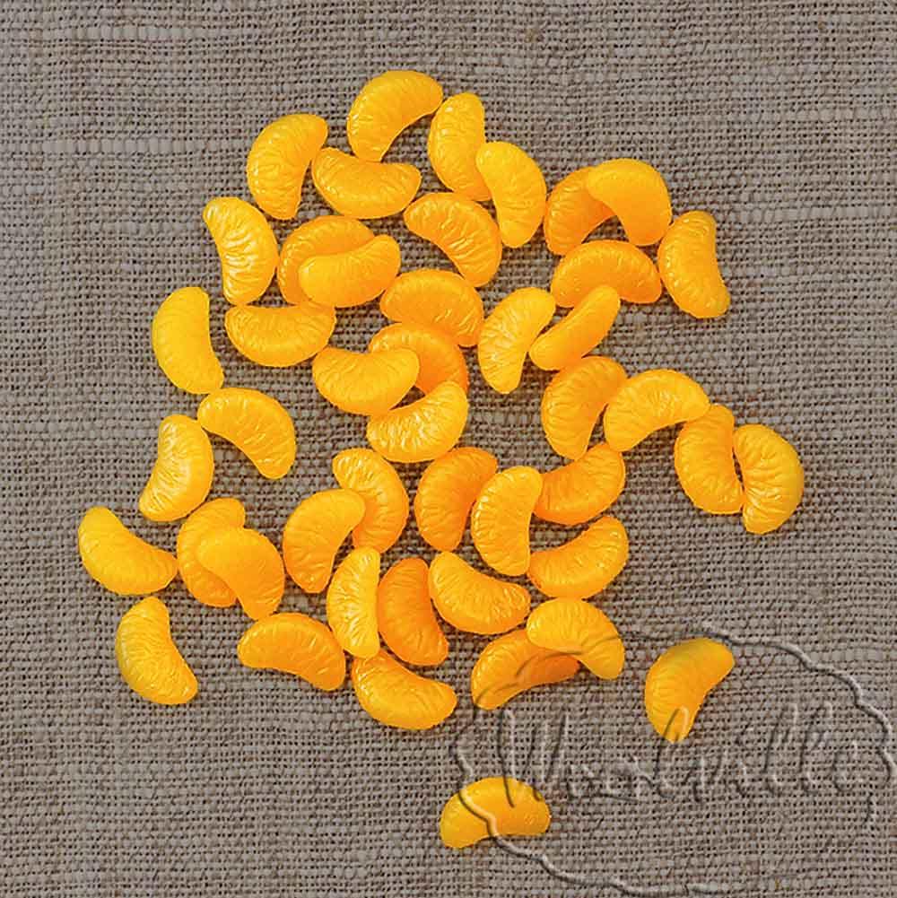 Миниатюра долька мандарина
