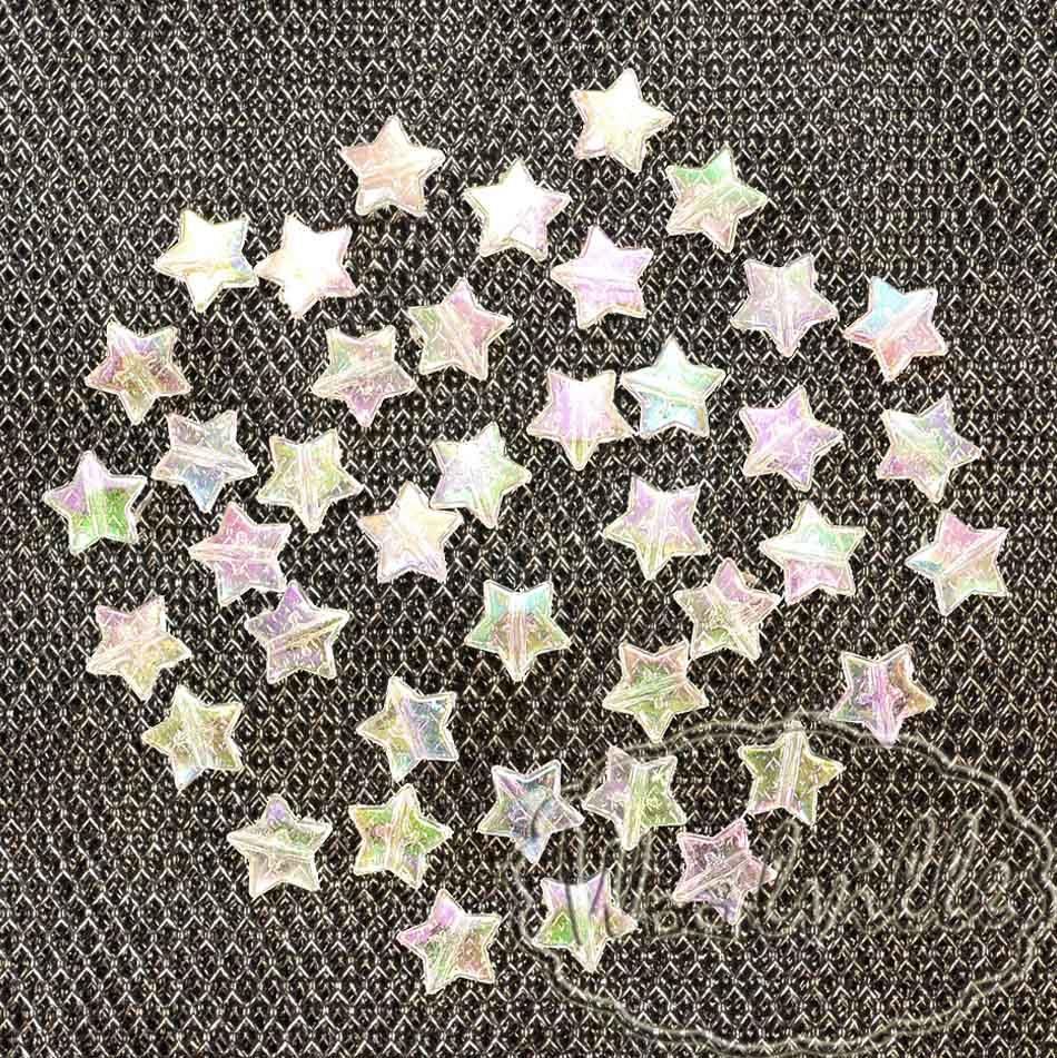 Пуговица перламутровая звезда 11 мм