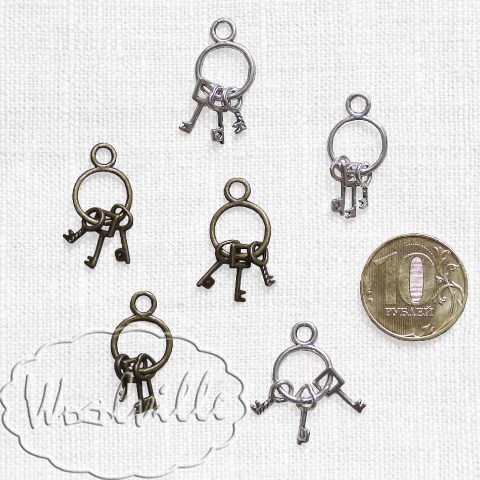 Подвеска связка ключиков