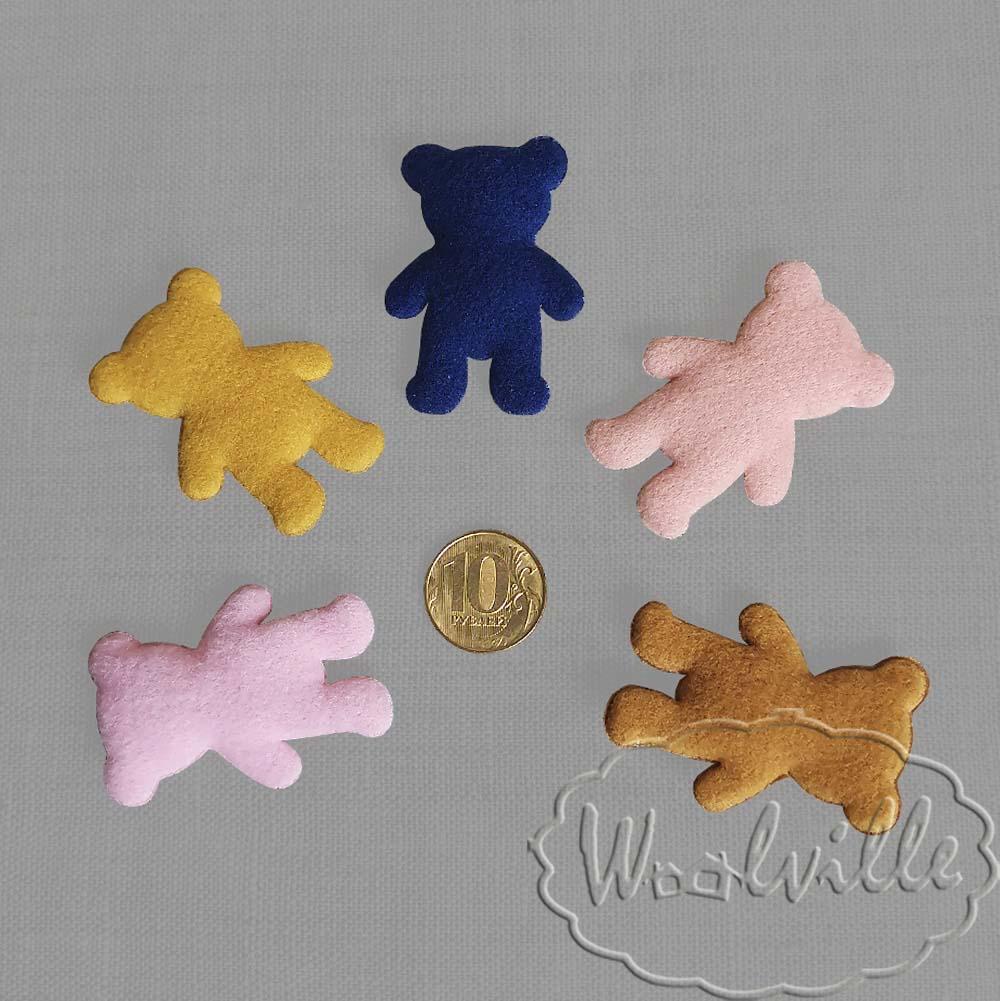 Кукольная миниатюра медвежонок 50 мм