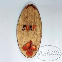 Картина из шерсти доска для серфинга