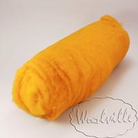 Шерсть кардочес горчичного цвета