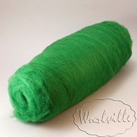 Шерсть кардочес зеленый
