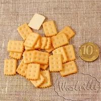 Миниатюра печенье прямоугольное 20 мм