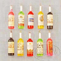 Миниатюрная бутылка вина