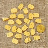Миниатюра кусочек сыра