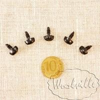 Носик для игрушек собачий 10 мм