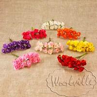 Цветы бумажные розы