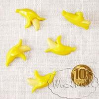 Кукольная миниатюра банан 30 мм