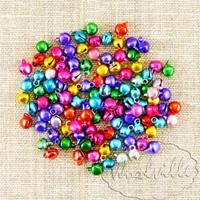 Бубенчики разноцветные 6 мм