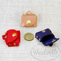 Кукольная миниатюра сумка 40 мм