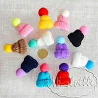 Кукольная миниатюра шапка 55 мм