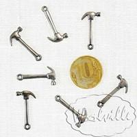 Кукольная миниатюра молоток 24 мм