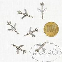 Кукольная миниатюра самолет 24 мм