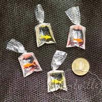 Кукольная миниатюра пакет с рыбкой