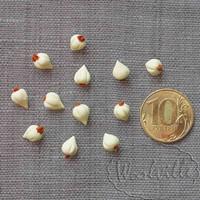 Кукольная миниатюра чеснок 9 мм