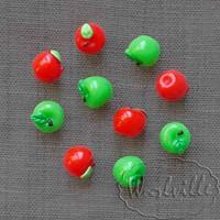 Миниатюра яблоко красное 12 мм
