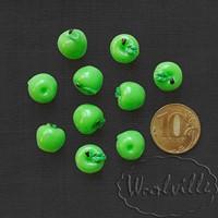 Миниатюра яблоко зеленое 12 мм