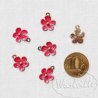 Подвеска кулон цветочек 13 мм