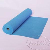 Фетр рулонный 1 мм голубой 45-25 см