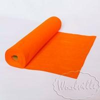 Фетр рулонный 1 мм оранжевый 45-25 см
