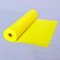Фетр рулонный 1 мм лимонный 45-25 см