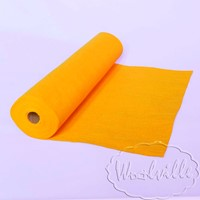 Фетр рулонный 1 мм желток 45-25 см