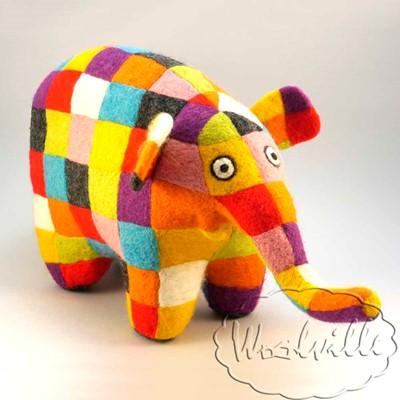 Игрушка слон Элмер