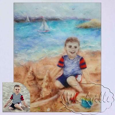 Картина Замок из песка