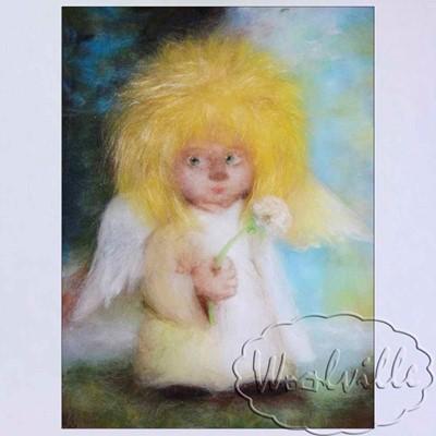 Картина Ангел и одуванчик