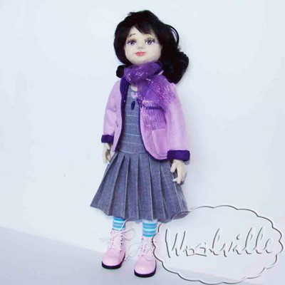 Шарнирная кукла Даша