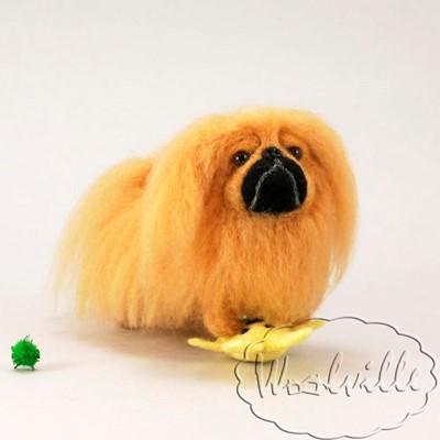 Игрушка собака пекинес