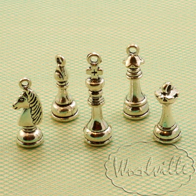 Подвески шахматы набор 5шт