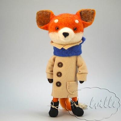 Игрушка Лис в пальто