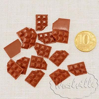Миниатюра плитка шоколада 17 мм