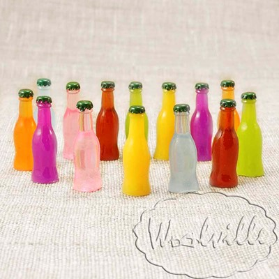 Миниатюра бутылочка лимонада 30 мм