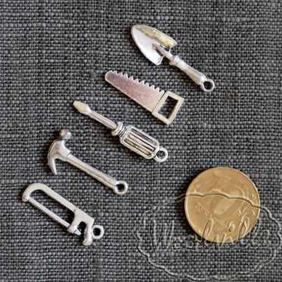 Набор миниатюр строительный