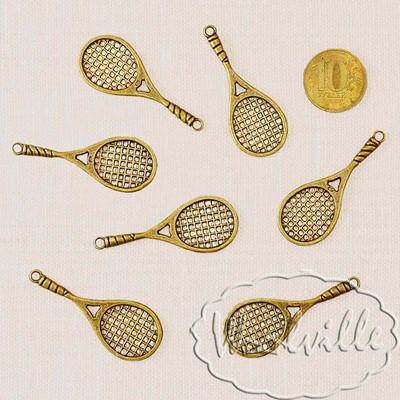 Миниатюра теннисная ракетка 49 мм