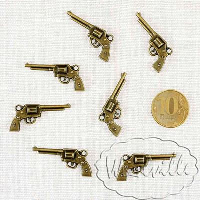 Кукольная миниатюра пистолет 35 мм