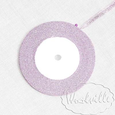 Лента фиолетовая блестящая 7 мм