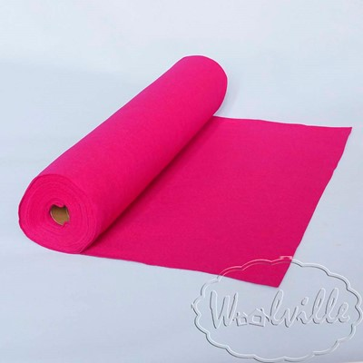 Фетр рулонный 1 мм розовый 45-25 см